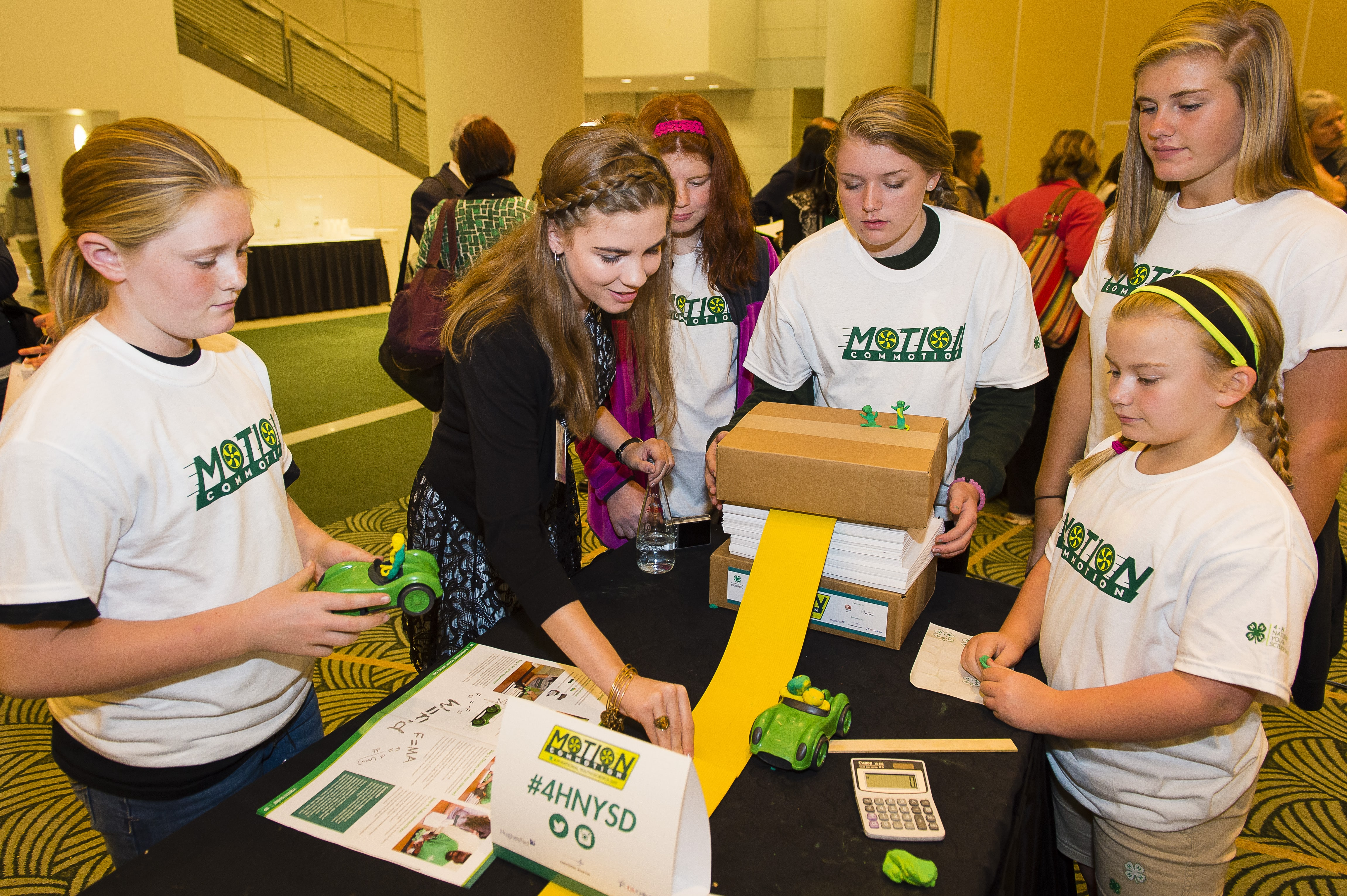 Image of 4-H student benefiting from partnership with HughesNet